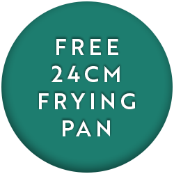 28cm Non Stick Frying Pan with FREE 24cm Non Stick Frying Pan