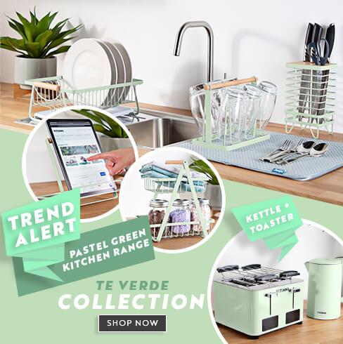 Kitchen Range - Pastel Green