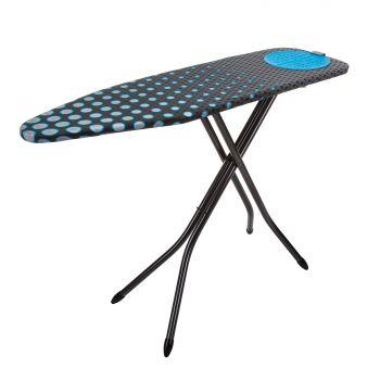 Minky Hot Spot Blue Ironing Board