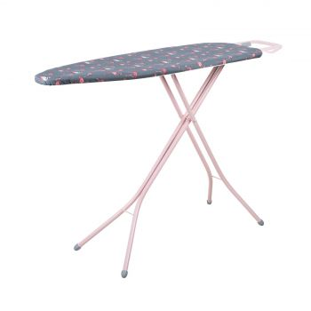 Minky Flamingo Pink Large Ironing Board