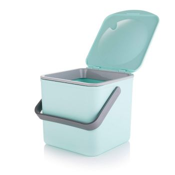 Minky Pastel Green Compost Food Waste Caddy