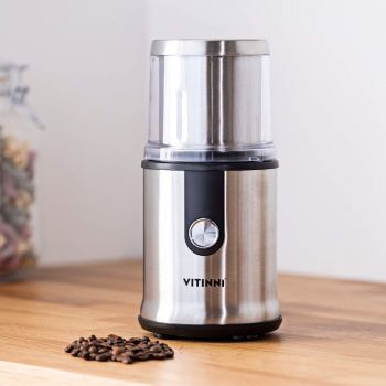 Vitinni 2 in 1 Personal Smoothie Blender with Grinding Cup