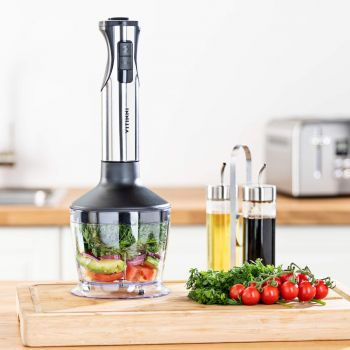 Vitinni 3 in 1 Immersion Hand Blender, Multi Chopper & Whisk Set