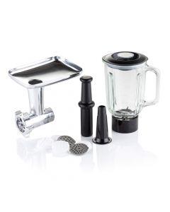 Stand Mixer Accessory Pack - Blender Jug, Meat Grinder and Pasta Maker