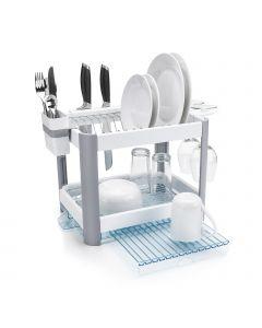 Minky Twin Tier Extending Dish Rack