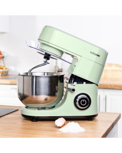 Te Verde Pastel Mint Green 1500W Planetary Stand Mixer