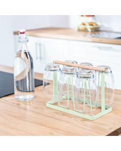 Te Verde Pastel Mint Green Glass Holder