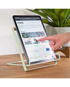 Te Verde Pastel Mint Green iPad, Tablet, Cookbook Stand