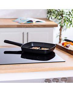 Vitinni 28cm Non-Stick Cast Aluminium Grill Pan