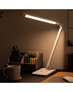 Desk Lamp with Wireless Phone Charging Dock Fully Adjustable LED