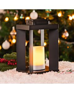 25.5cm Battery Operated Indoor Lantern