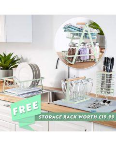 Te Verde Kitchen Sink Set with FREE Storage Basket